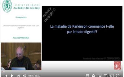 Axe Intestin Cerveau et Parkinson